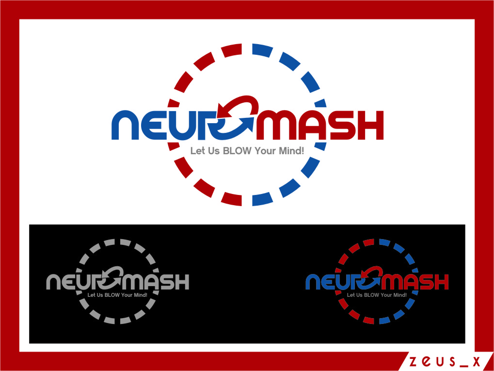 Logo Design by Ngepet_art - Entry No. 98 in the Logo Design Contest Unique Logo Design Wanted for NeuroMash.