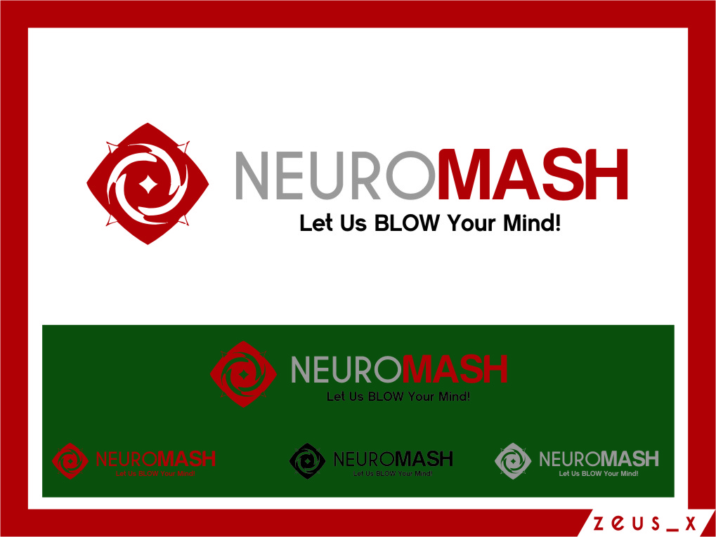 Logo Design by RasYa Muhammad Athaya - Entry No. 99 in the Logo Design Contest Unique Logo Design Wanted for NeuroMash.