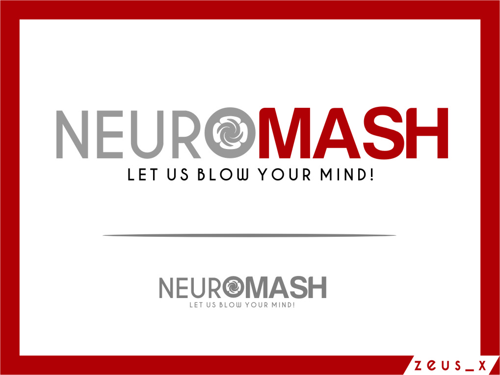 Logo Design by Ngepet_art - Entry No. 100 in the Logo Design Contest Unique Logo Design Wanted for NeuroMash.