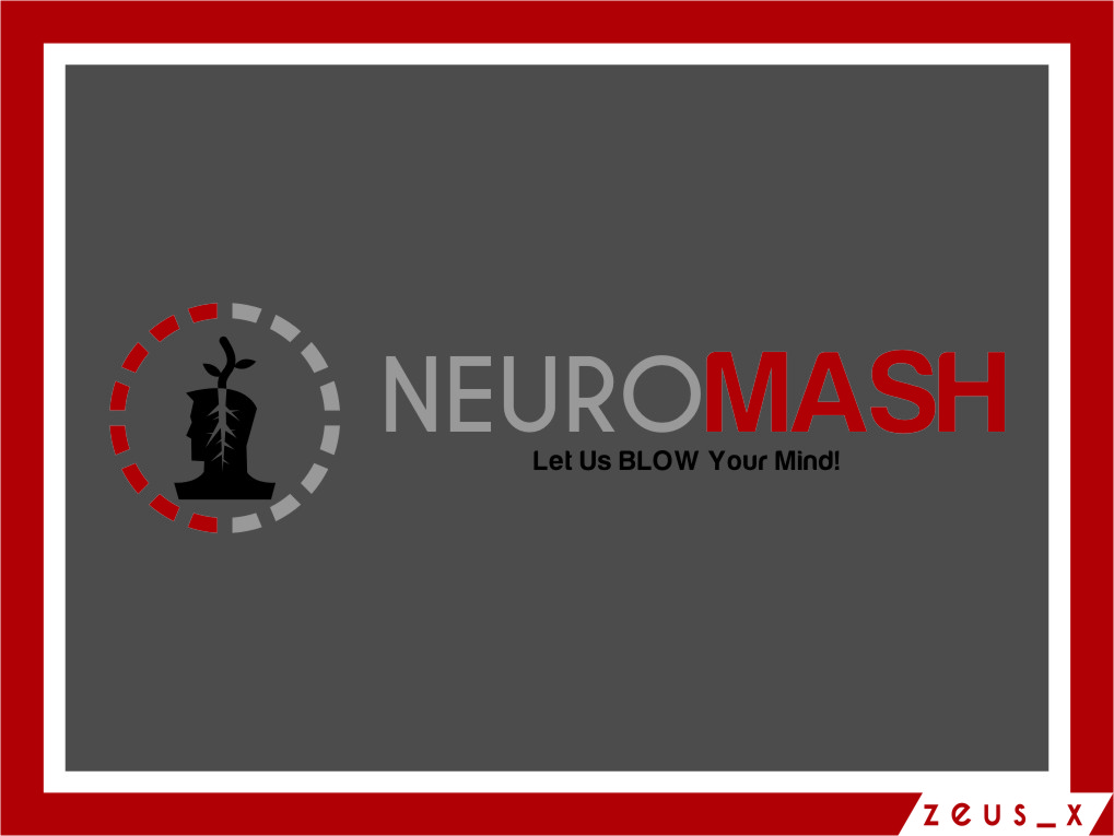 Logo Design by RasYa Muhammad Athaya - Entry No. 101 in the Logo Design Contest Unique Logo Design Wanted for NeuroMash.