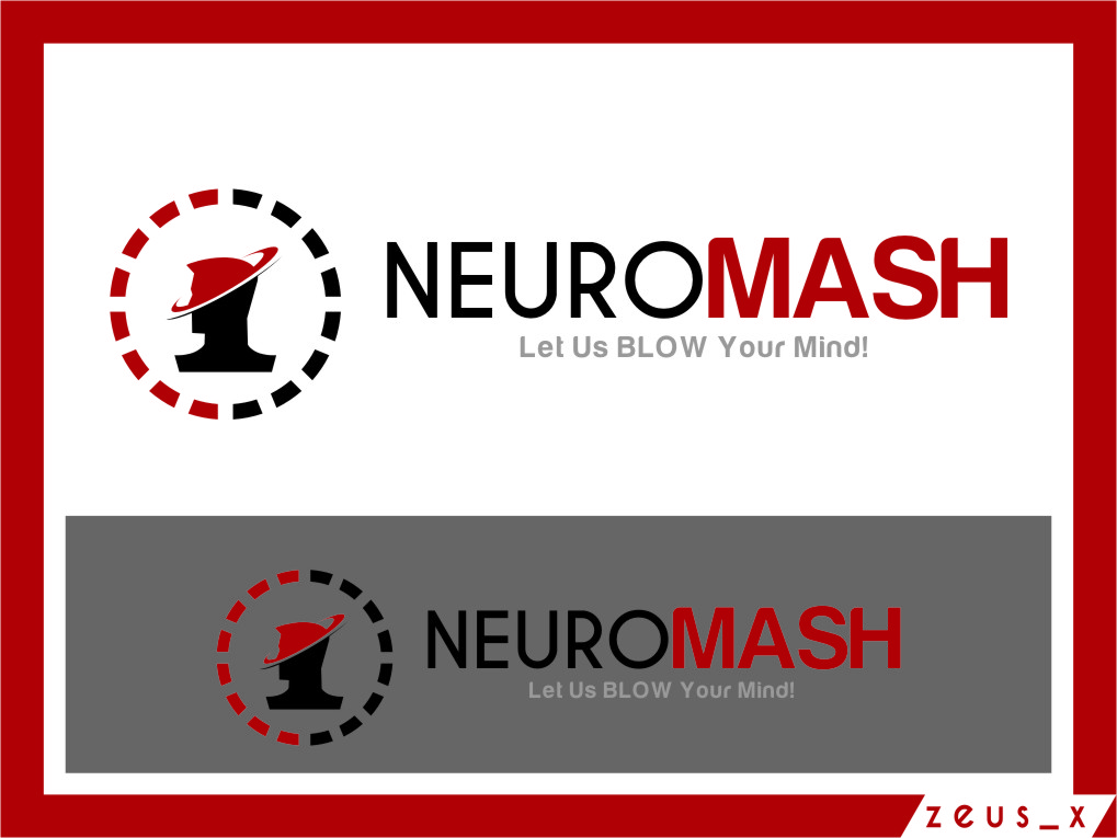 Logo Design by RasYa Muhammad Athaya - Entry No. 102 in the Logo Design Contest Unique Logo Design Wanted for NeuroMash.