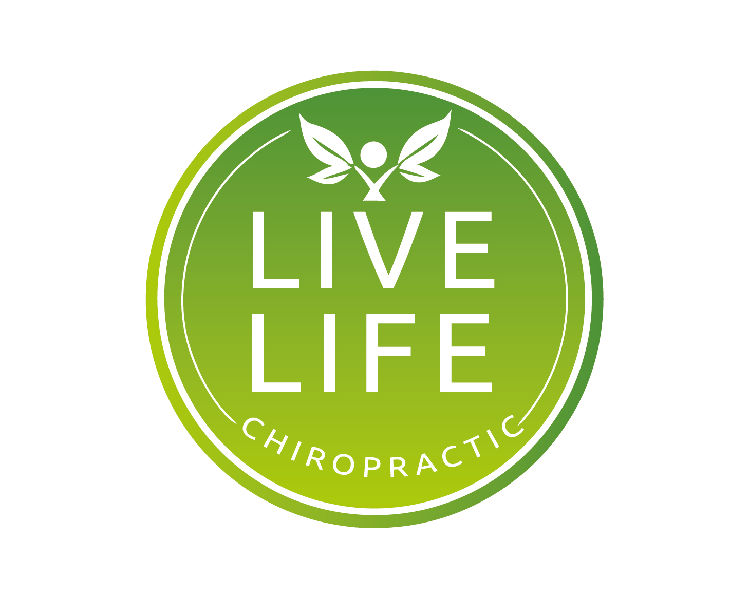 Logo Design by VENTSISLAV KOVACHEV - Entry No. 51 in the Logo Design Contest Captivating Logo Design for LiveLife Chiropractic.