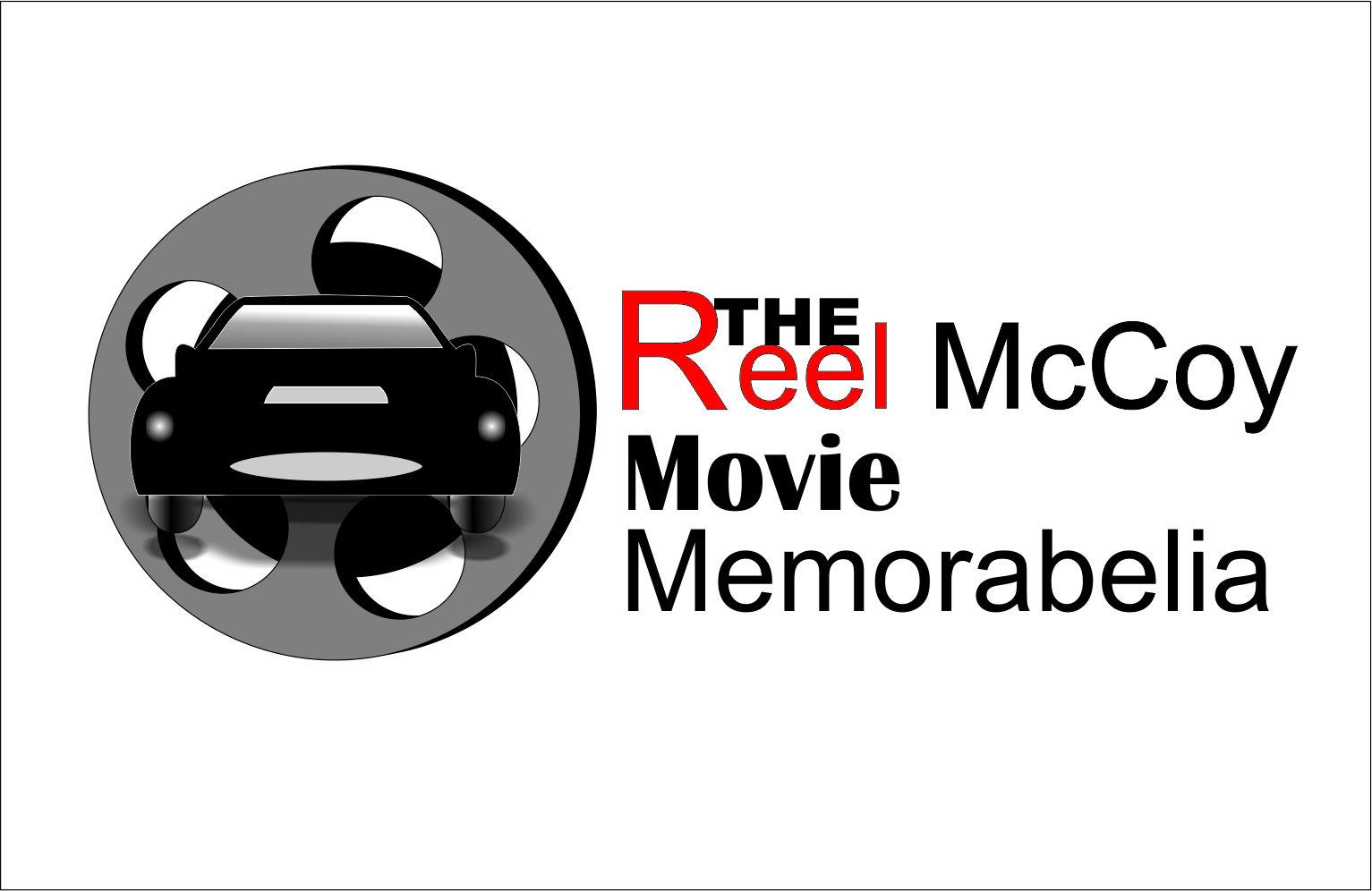 Logo Design by Agus Martoyo - Entry No. 26 in the Logo Design Contest Unique Logo Design Wanted for The Reel McCoy Movie Memorabilia.