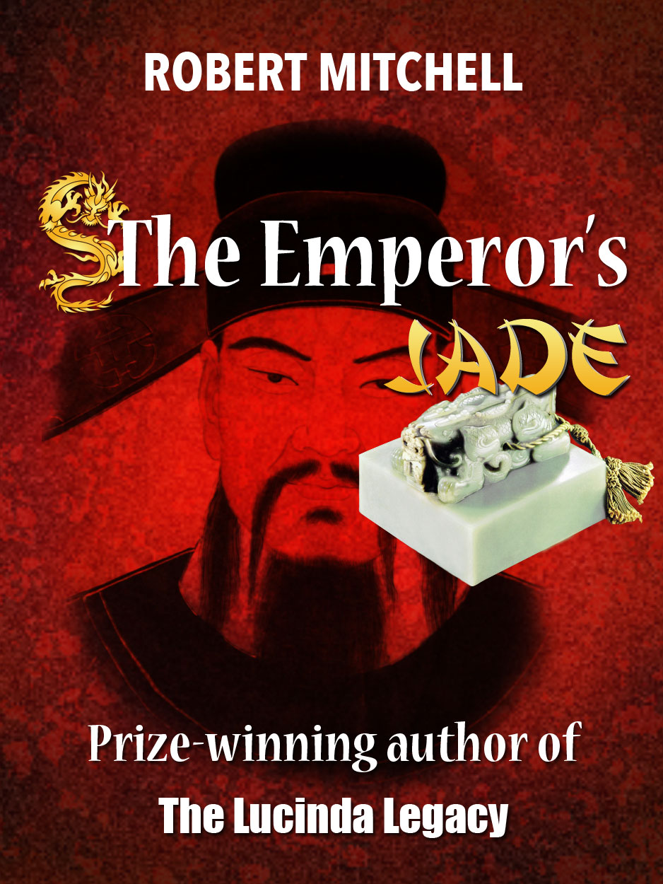 Book Cover Design by Thanasis Athanasopoulos - Entry No. 88 in the Book Cover Design Contest Book Cover Design for The Emperor's Jade.
