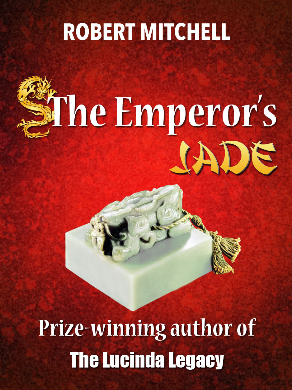 Book Cover Design by Thanasis Athanasopoulos - Entry No. 89 in the Book Cover Design Contest Book Cover Design for The Emperor's Jade.