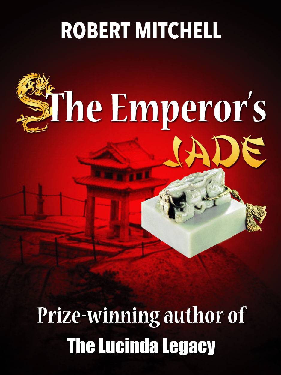 Book Cover Design by Thanasis Athanasopoulos - Entry No. 90 in the Book Cover Design Contest Book Cover Design for The Emperor's Jade.
