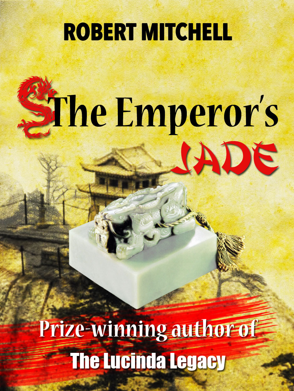Book Cover Design by Thanasis Athanasopoulos - Entry No. 91 in the Book Cover Design Contest Book Cover Design for The Emperor's Jade.