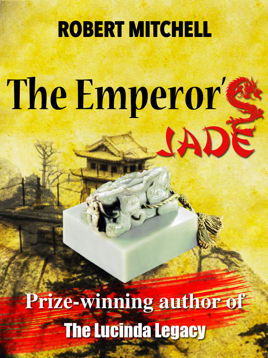 Book Cover Design by Thanasis Athanasopoulos - Entry No. 92 in the Book Cover Design Contest Book Cover Design for The Emperor's Jade.