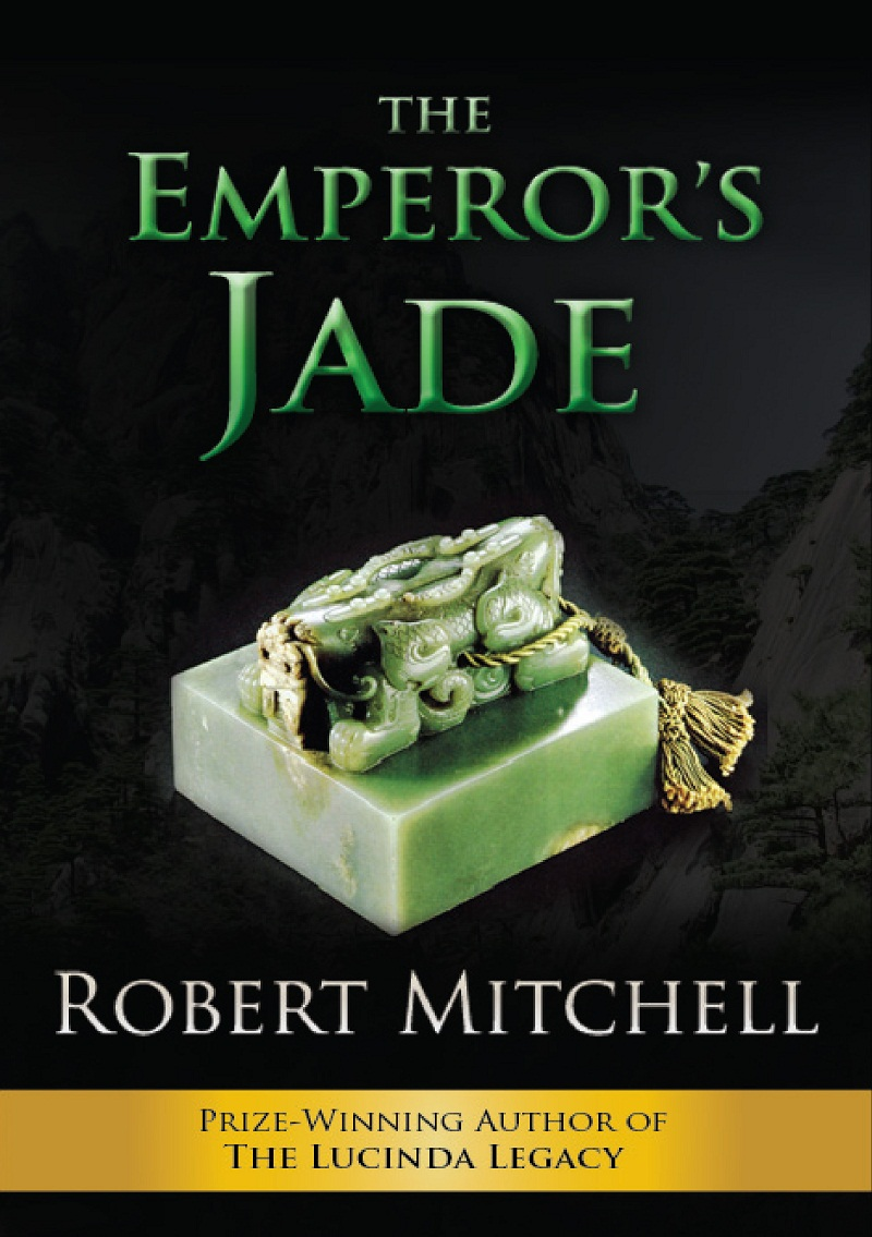 Book Cover Design by kowreck - Entry No. 94 in the Book Cover Design Contest Book Cover Design for The Emperor's Jade.