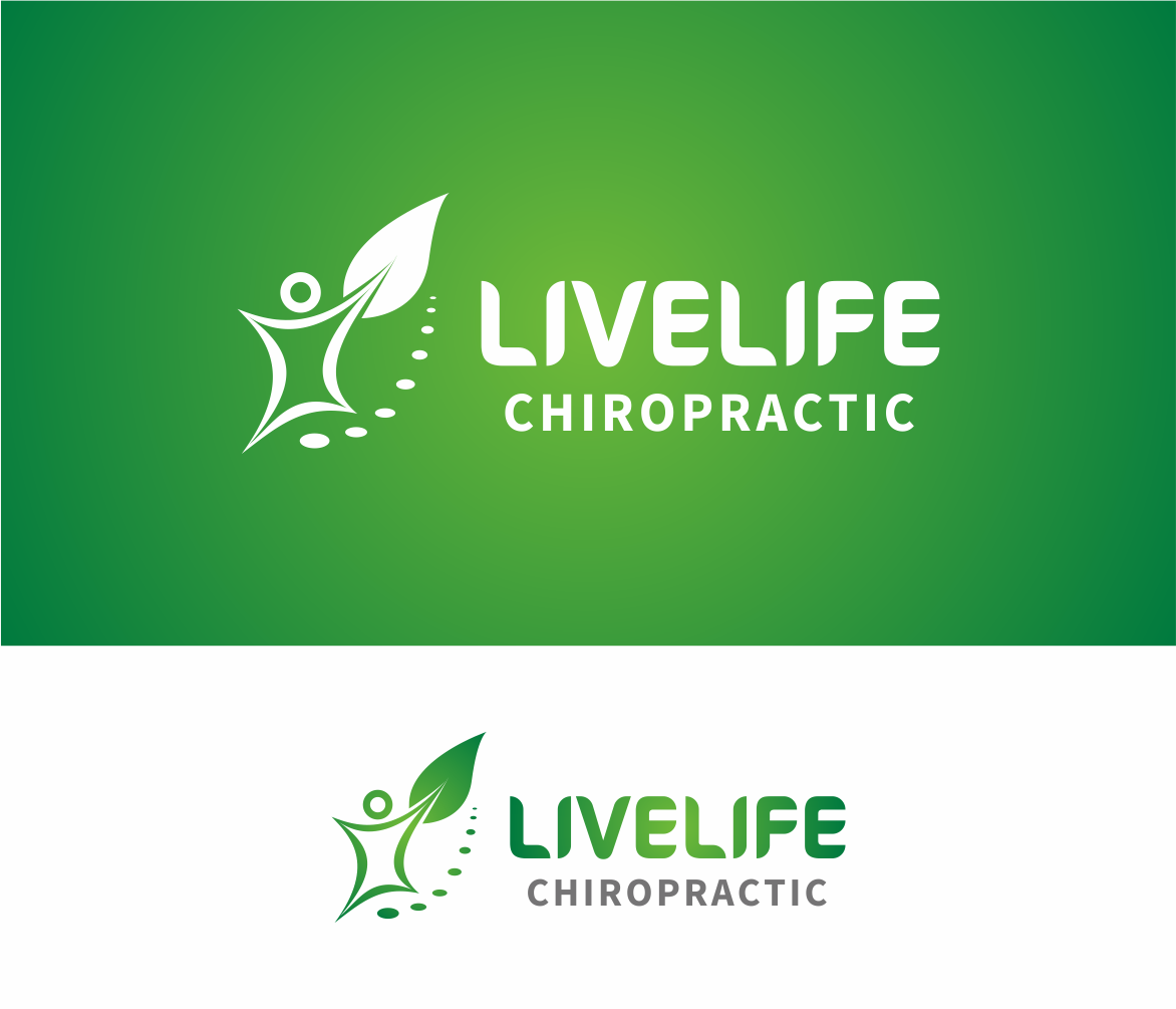 Logo Design by Armada Jamaluddin - Entry No. 55 in the Logo Design Contest Captivating Logo Design for LiveLife Chiropractic.