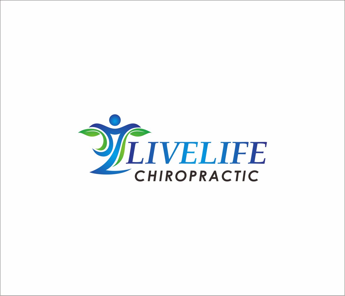 Logo Design by Armada Jamaluddin - Entry No. 56 in the Logo Design Contest Captivating Logo Design for LiveLife Chiropractic.