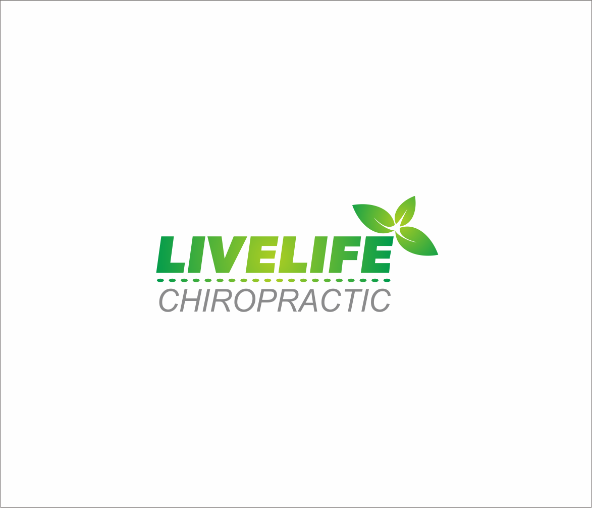 Logo Design by Armada Jamaluddin - Entry No. 57 in the Logo Design Contest Captivating Logo Design for LiveLife Chiropractic.