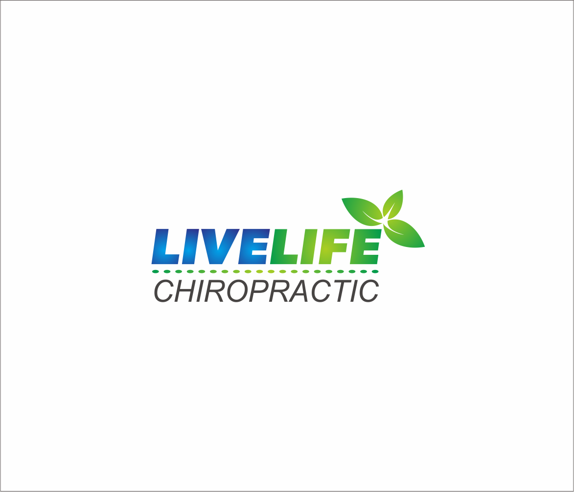 Logo Design by Armada Jamaluddin - Entry No. 58 in the Logo Design Contest Captivating Logo Design for LiveLife Chiropractic.