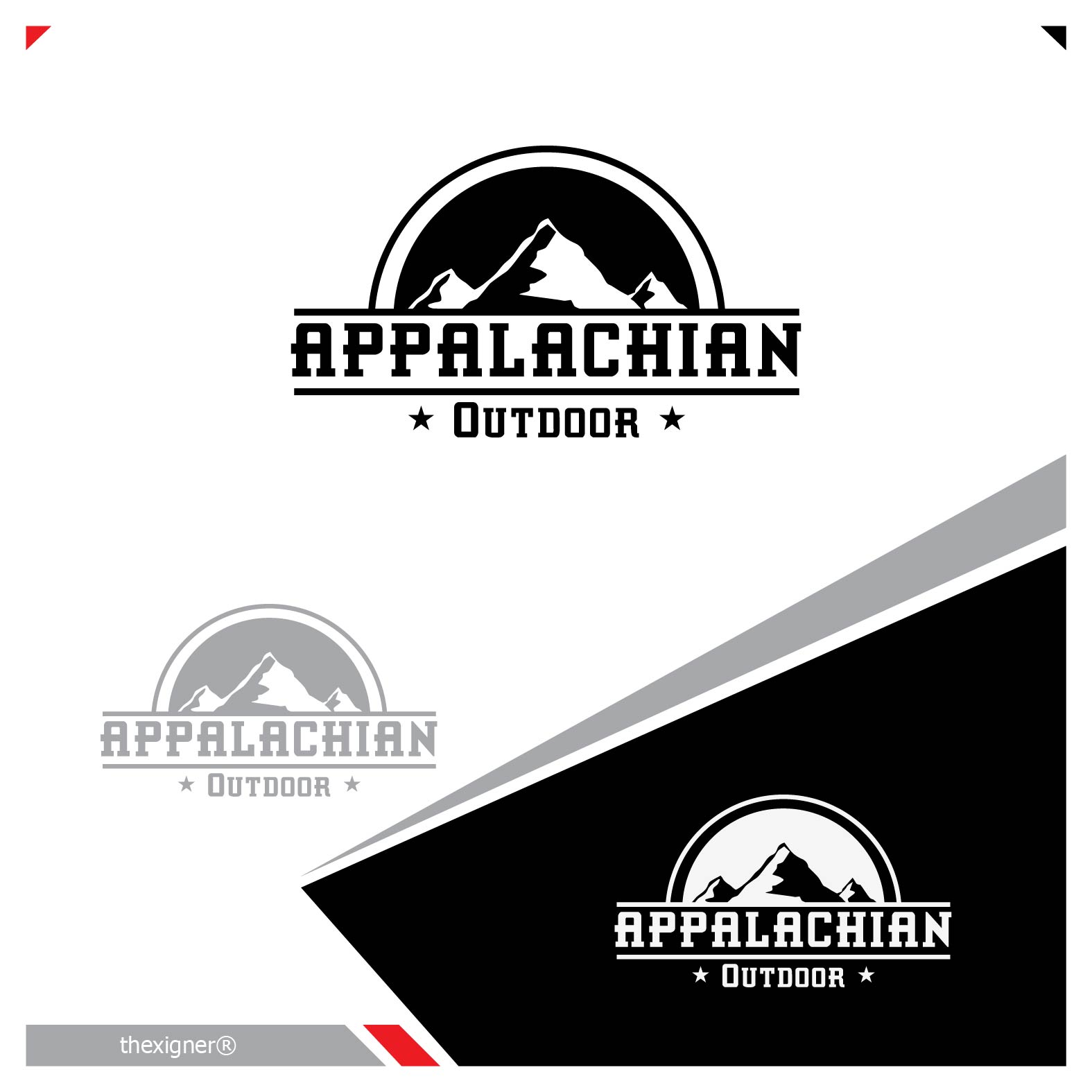 Logo Design by lagalag - Entry No. 17 in the Logo Design Contest Imaginative Logo Design for Appalachian Outdoor Readiness & Essentials.