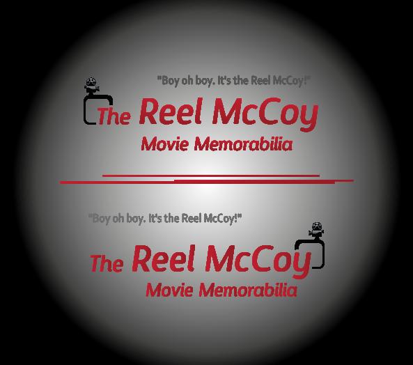 Logo Design by 354studio - Entry No. 31 in the Logo Design Contest Unique Logo Design Wanted for The Reel McCoy Movie Memorabilia.