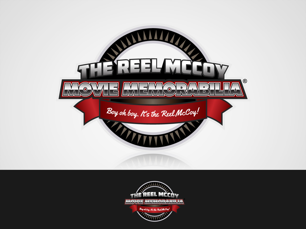 Logo Design by jpbituin - Entry No. 36 in the Logo Design Contest Unique Logo Design Wanted for The Reel McCoy Movie Memorabilia.