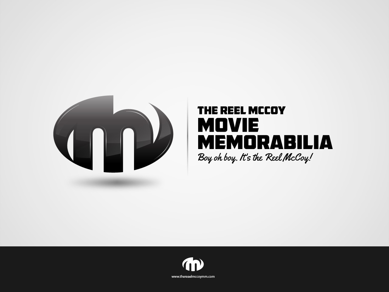 Logo Design by jpbituin - Entry No. 37 in the Logo Design Contest Unique Logo Design Wanted for The Reel McCoy Movie Memorabilia.