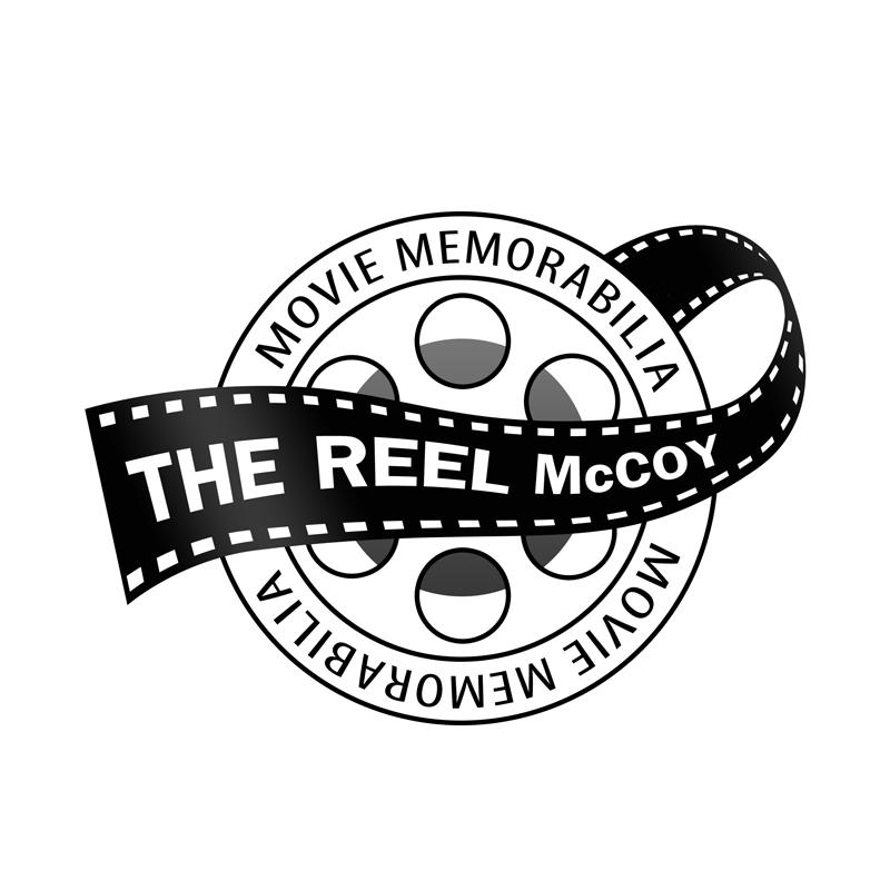 Logo Design by Robert Turla - Entry No. 39 in the Logo Design Contest Unique Logo Design Wanted for The Reel McCoy Movie Memorabilia.