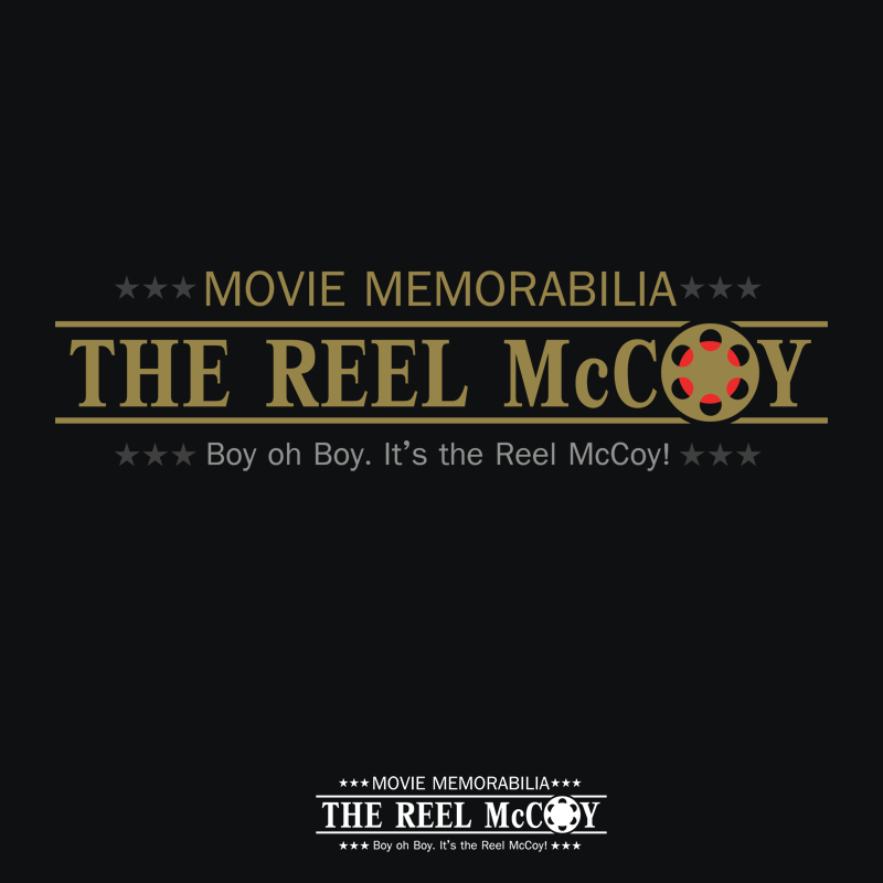 Logo Design by Private User - Entry No. 40 in the Logo Design Contest Unique Logo Design Wanted for The Reel McCoy Movie Memorabilia.