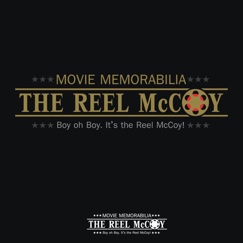 Logo Design by Robert Turla - Entry No. 40 in the Logo Design Contest Unique Logo Design Wanted for The Reel McCoy Movie Memorabilia.