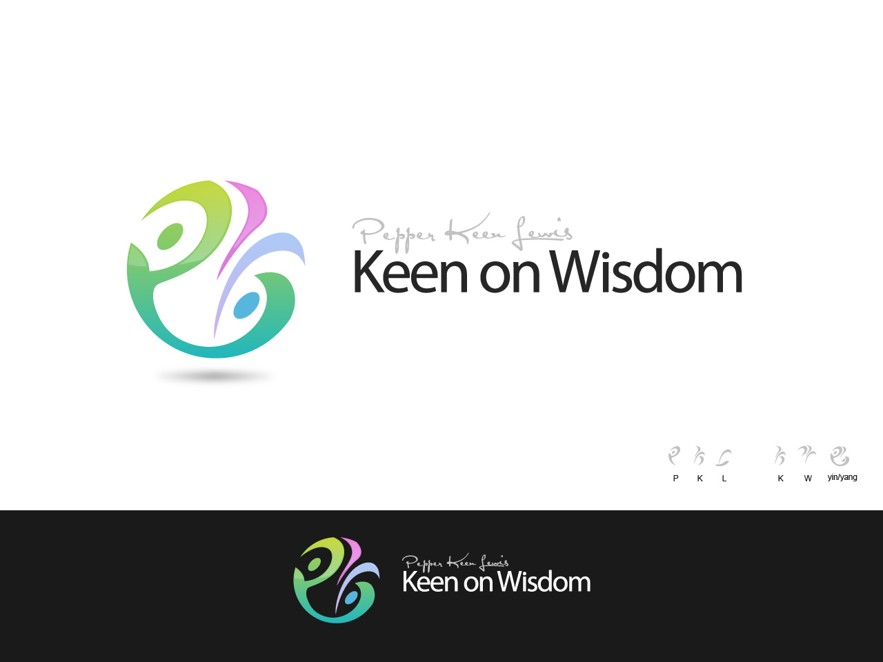 Logo Design by jpbituin - Entry No. 35 in the Logo Design Contest Logo Design for Keen on Wisdom, Keen for Life, Keen 4 Life.