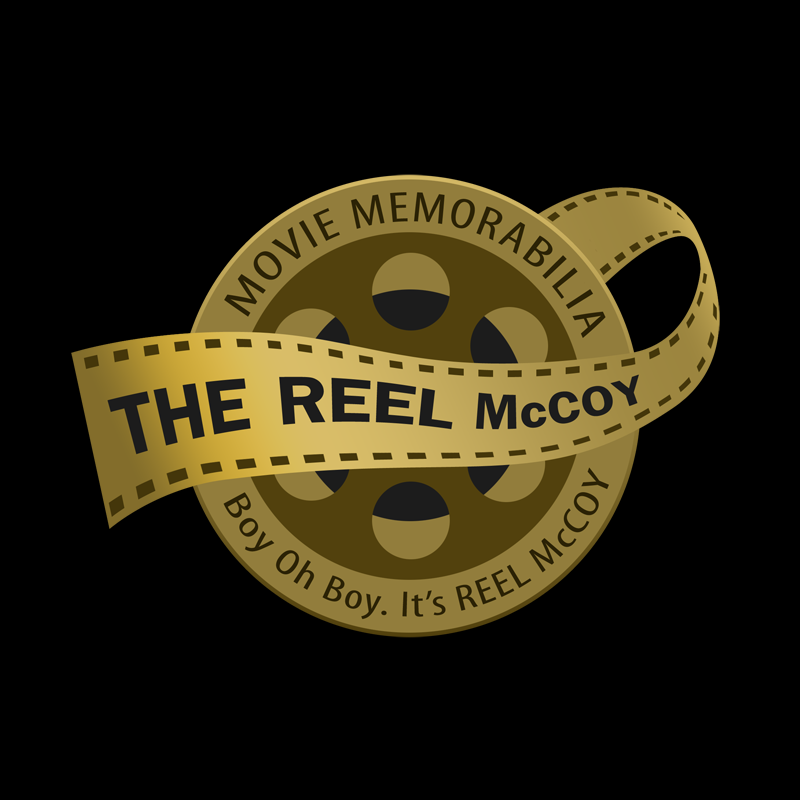 Logo Design by Private User - Entry No. 41 in the Logo Design Contest Unique Logo Design Wanted for The Reel McCoy Movie Memorabilia.