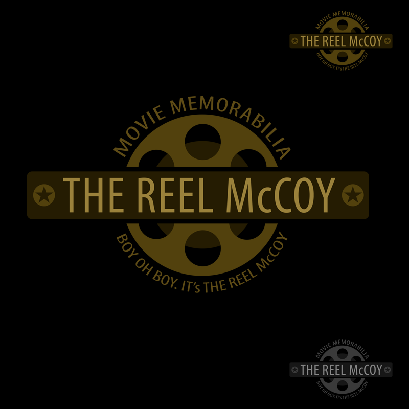 Logo Design by Private User - Entry No. 42 in the Logo Design Contest Unique Logo Design Wanted for The Reel McCoy Movie Memorabilia.