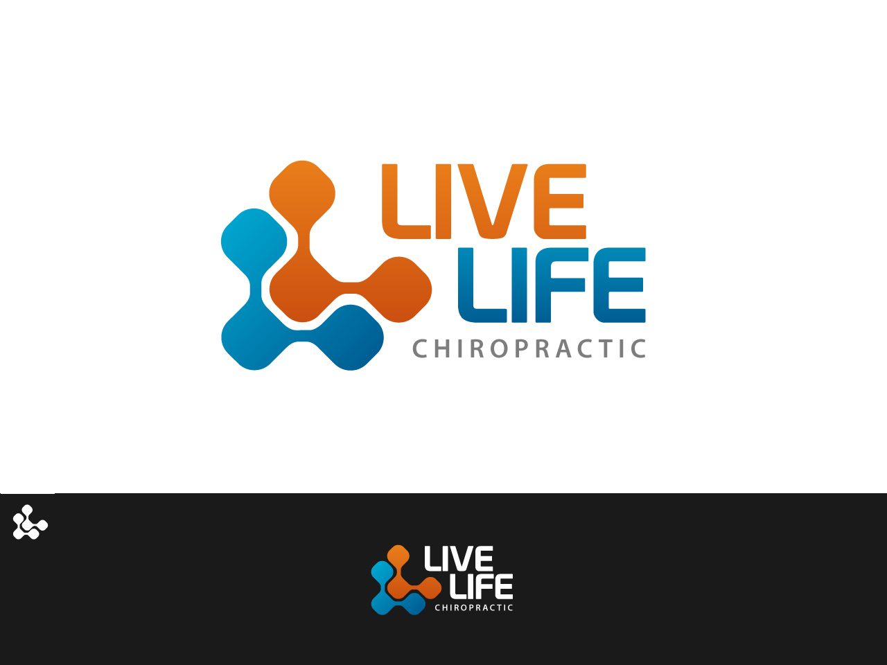 Logo Design by jpbituin - Entry No. 63 in the Logo Design Contest Captivating Logo Design for LiveLife Chiropractic.