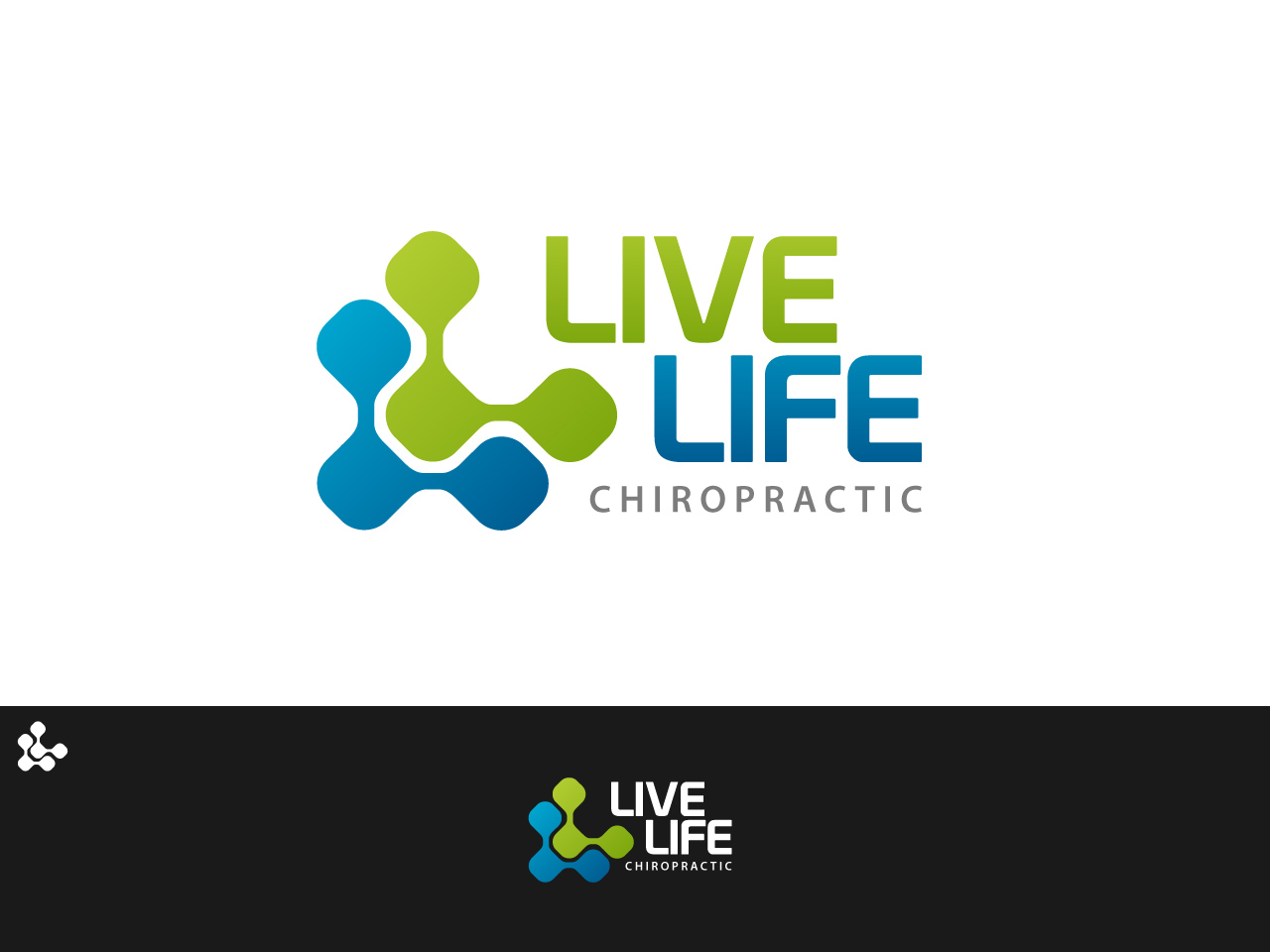 Logo Design by jpbituin - Entry No. 64 in the Logo Design Contest Captivating Logo Design for LiveLife Chiropractic.