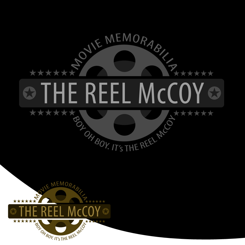 Logo Design by Private User - Entry No. 43 in the Logo Design Contest Unique Logo Design Wanted for The Reel McCoy Movie Memorabilia.