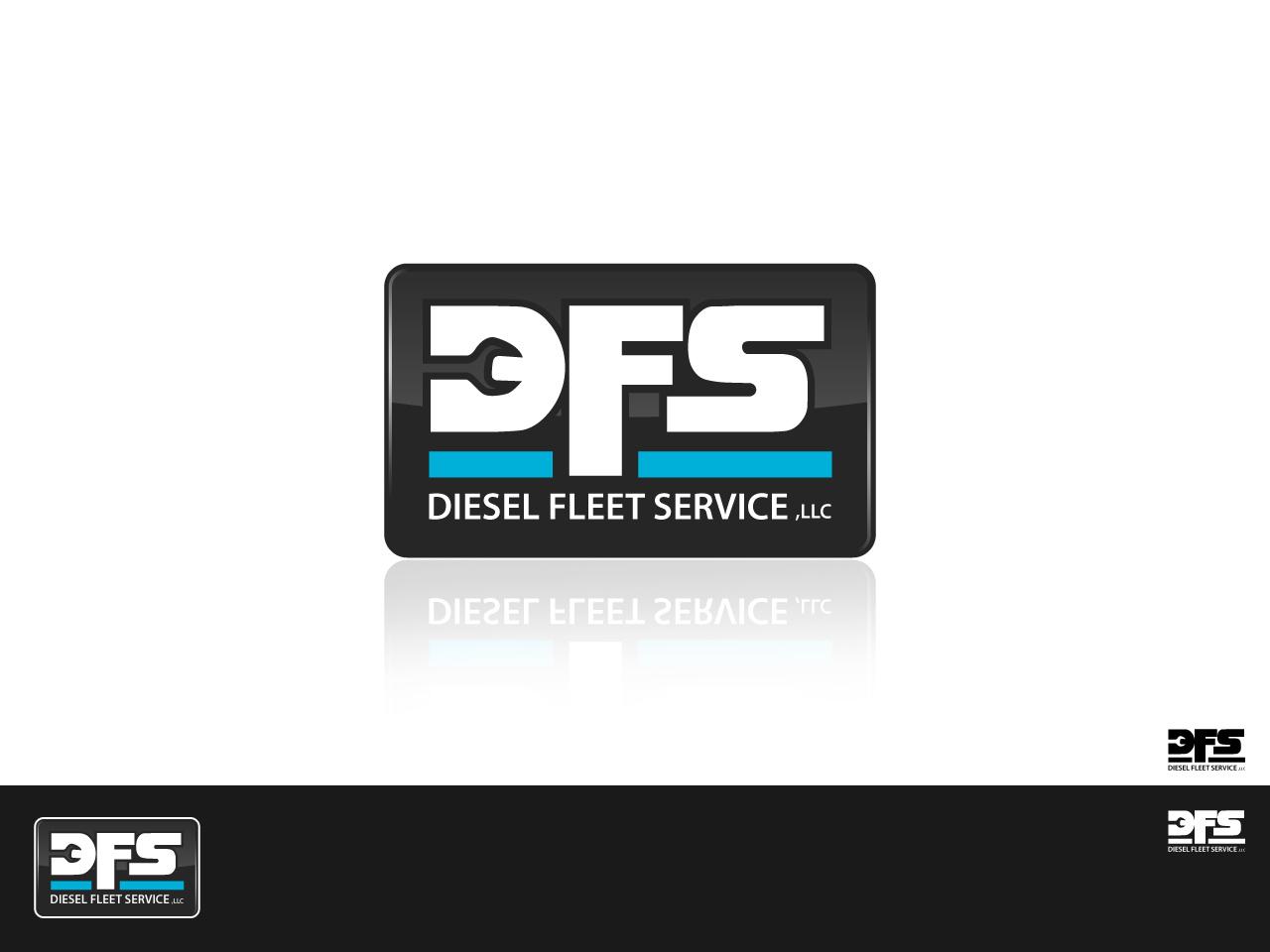 Logo Design by jpbituin - Entry No. 44 in the Logo Design Contest Artistic Logo Design for Diesel Fleet Service, LLC.