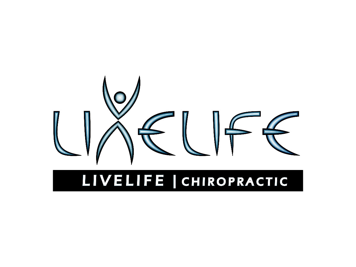 Logo Design by Prithinath - Entry No. 67 in the Logo Design Contest Captivating Logo Design for LiveLife Chiropractic.