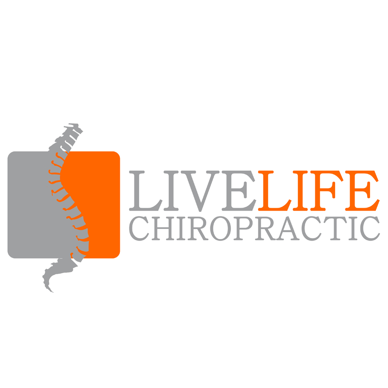 Logo Design by Private User - Entry No. 69 in the Logo Design Contest Captivating Logo Design for LiveLife Chiropractic.
