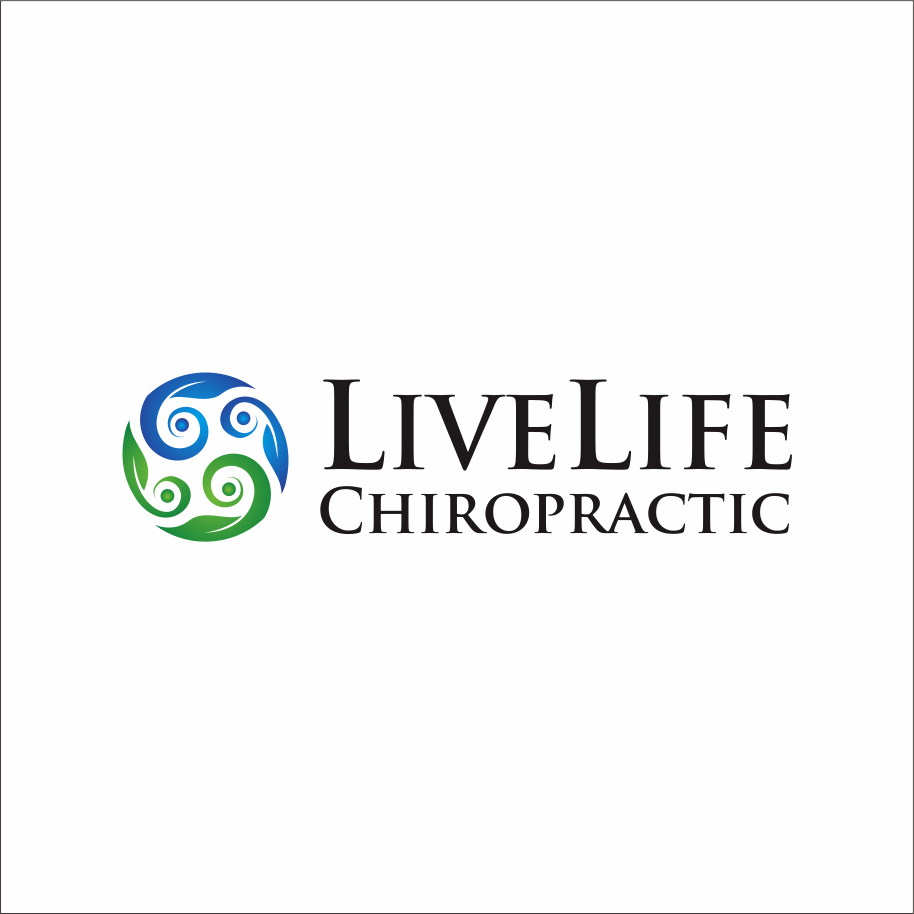 Logo Design by Armada Jamaluddin - Entry No. 72 in the Logo Design Contest Captivating Logo Design for LiveLife Chiropractic.