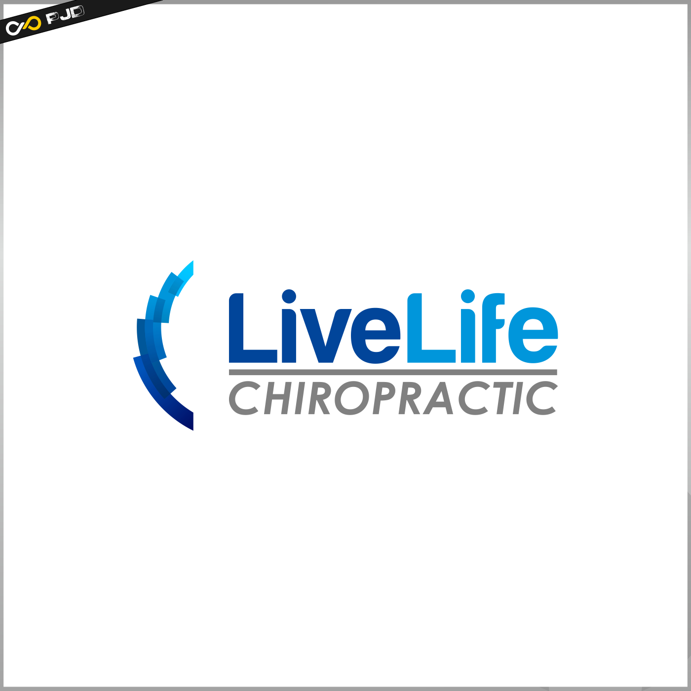 Logo Design by PJD - Entry No. 73 in the Logo Design Contest Captivating Logo Design for LiveLife Chiropractic.