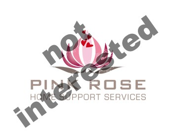 Logo Design by DINOO45 - Entry No. 93 in the Logo Design Contest Pink Rose Home Support Services.