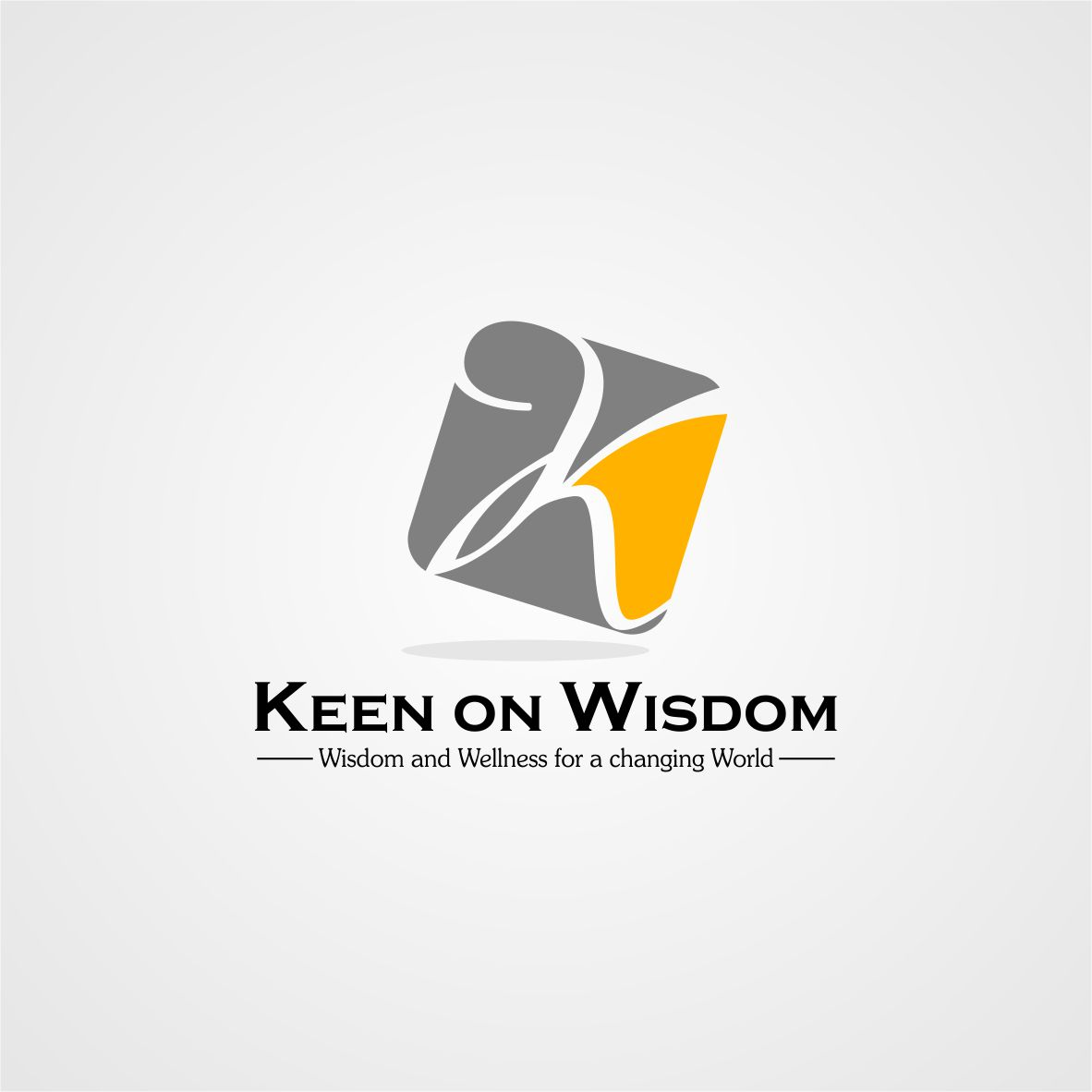 Logo Design by arteo_design - Entry No. 37 in the Logo Design Contest Logo Design for Keen on Wisdom, Keen for Life, Keen 4 Life.
