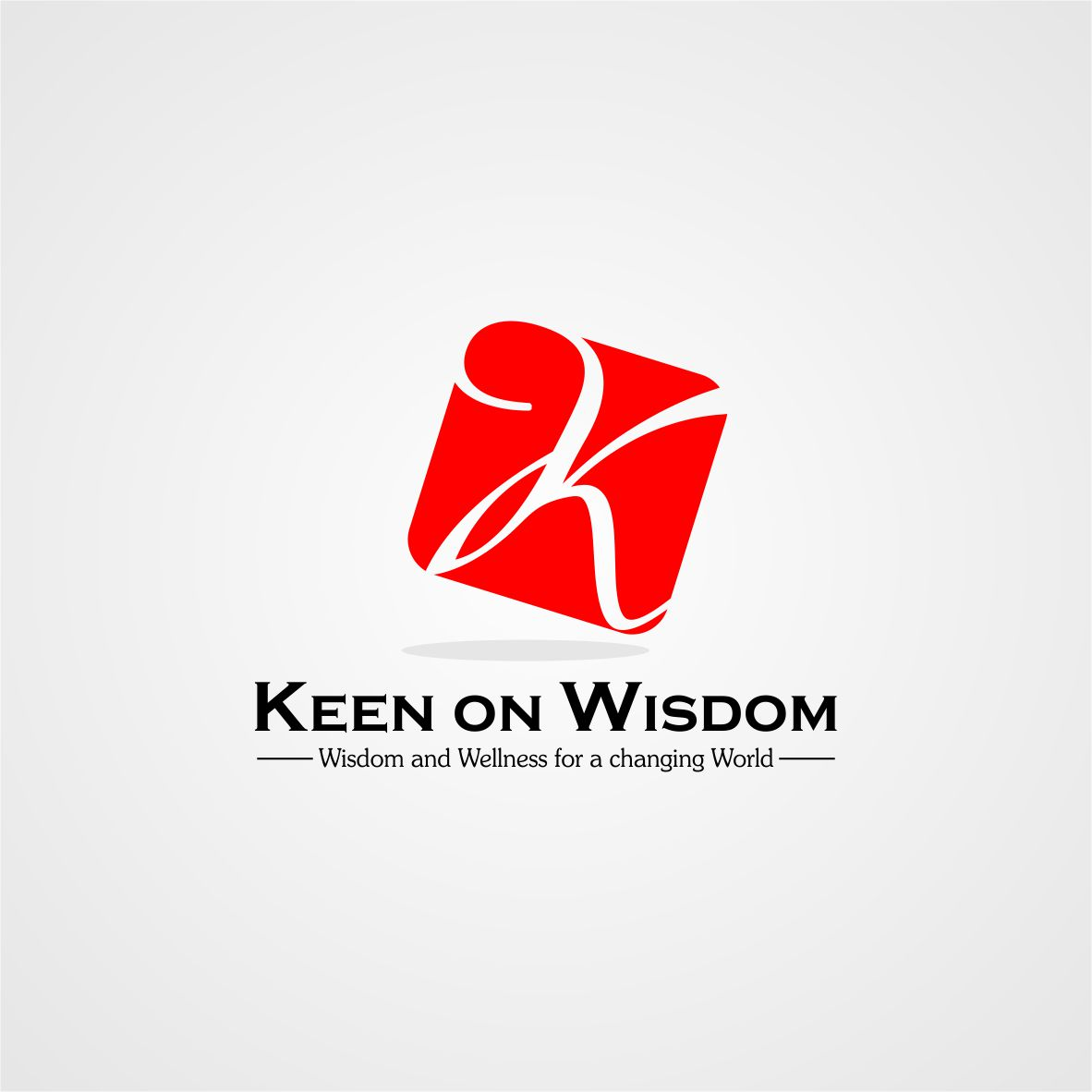 Logo Design by arteo_design - Entry No. 38 in the Logo Design Contest Logo Design for Keen on Wisdom, Keen for Life, Keen 4 Life.