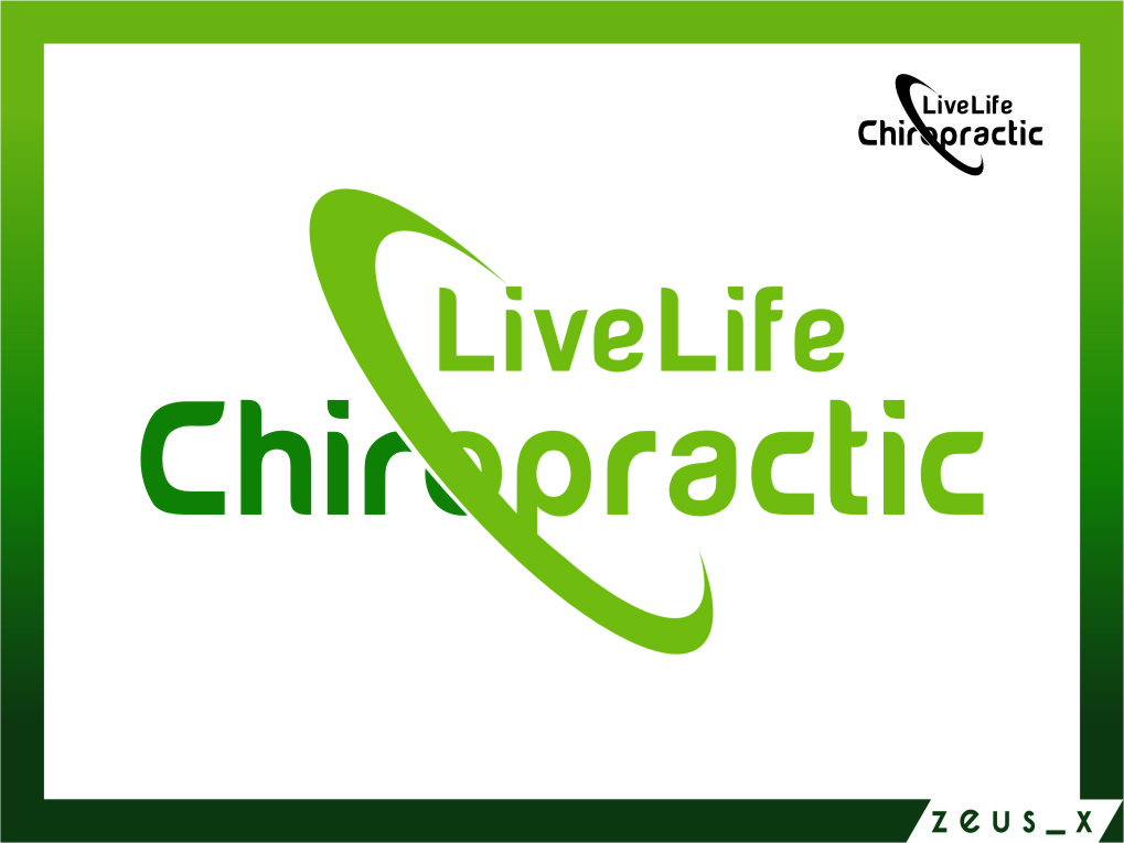 Logo Design by Ngepet_art - Entry No. 78 in the Logo Design Contest Captivating Logo Design for LiveLife Chiropractic.