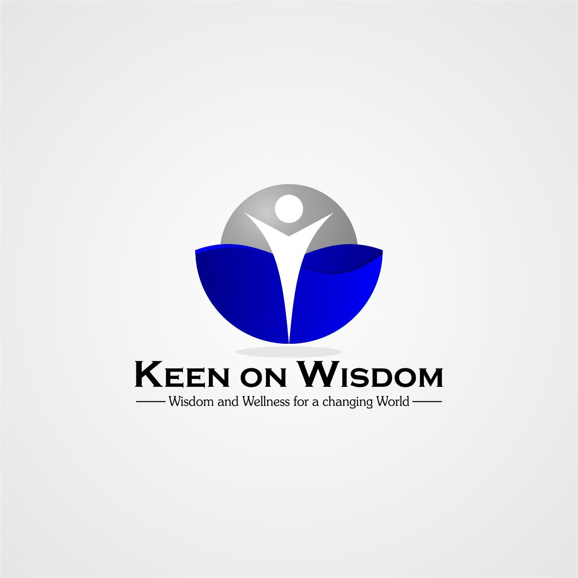 Logo Design by arteo_design - Entry No. 39 in the Logo Design Contest Logo Design for Keen on Wisdom, Keen for Life, Keen 4 Life.