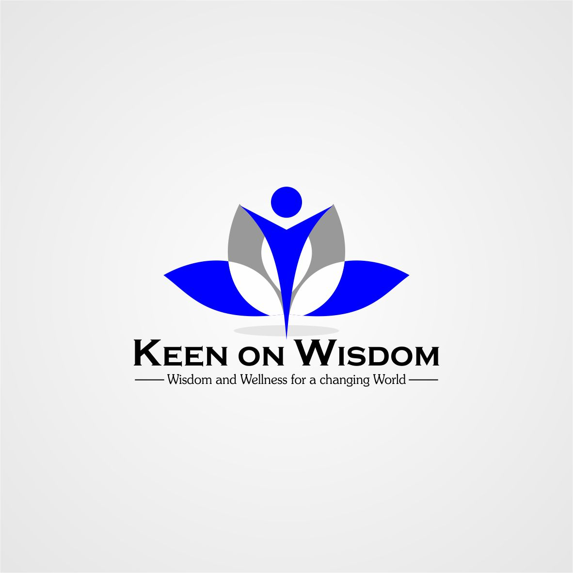Logo Design by arteo_design - Entry No. 42 in the Logo Design Contest Logo Design for Keen on Wisdom, Keen for Life, Keen 4 Life.