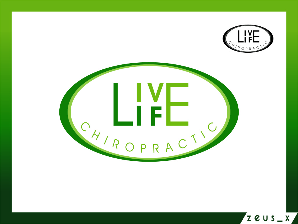 Logo Design by RasYa Muhammad Athaya - Entry No. 79 in the Logo Design Contest Captivating Logo Design for LiveLife Chiropractic.