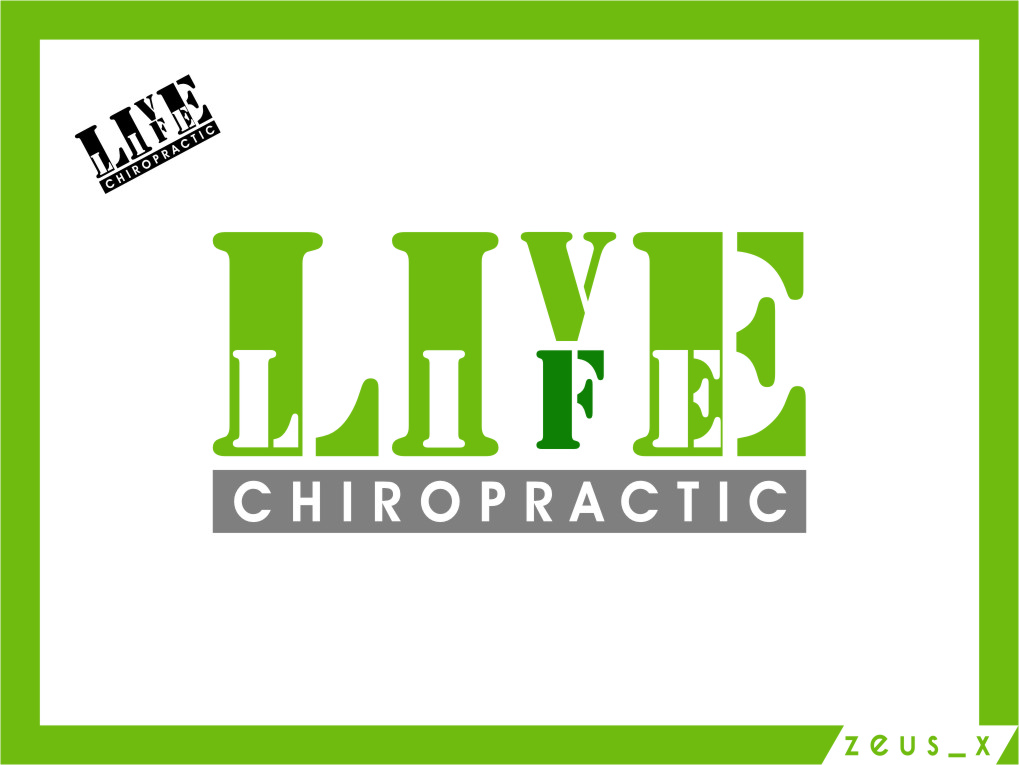 Logo Design by Ngepet_art - Entry No. 81 in the Logo Design Contest Captivating Logo Design for LiveLife Chiropractic.