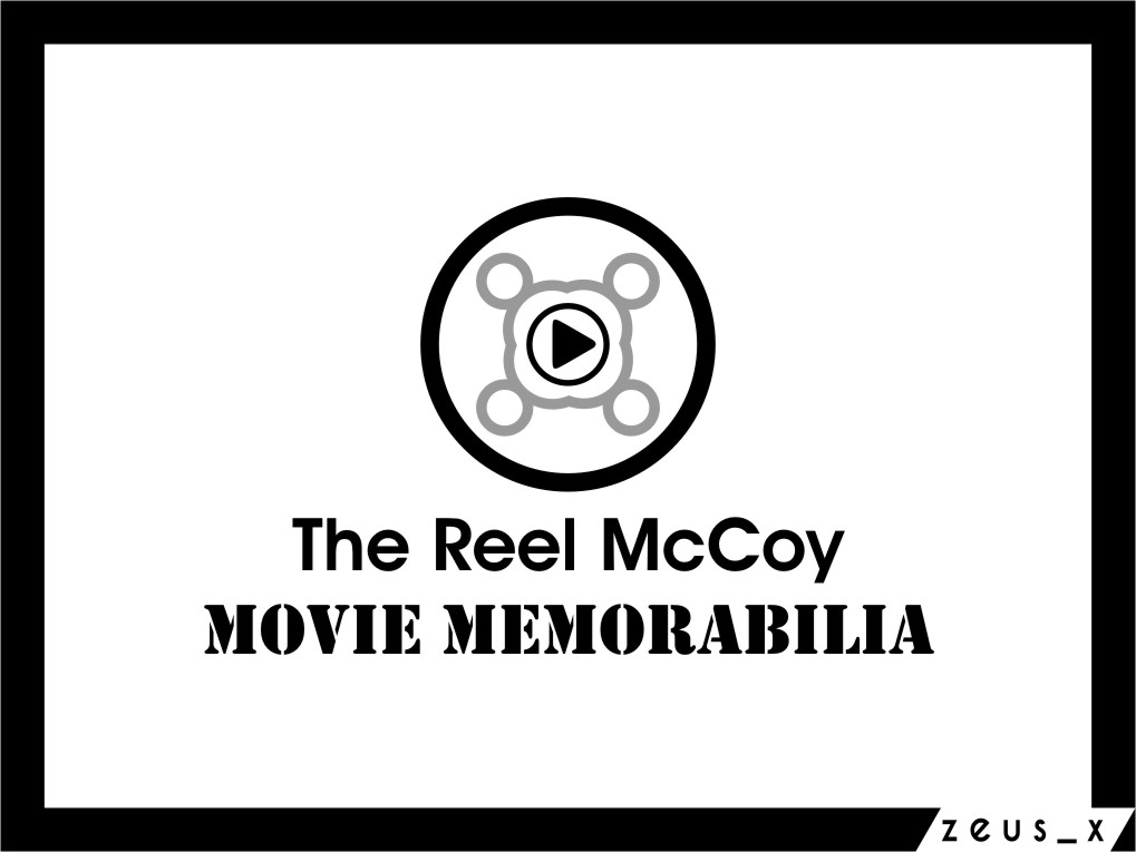 Logo Design by RasYa Muhammad Athaya - Entry No. 45 in the Logo Design Contest Unique Logo Design Wanted for The Reel McCoy Movie Memorabilia.