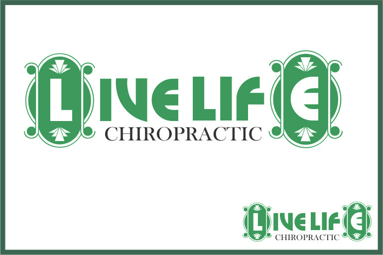 Logo Design by Agus Martoyo - Entry No. 86 in the Logo Design Contest Captivating Logo Design for LiveLife Chiropractic.
