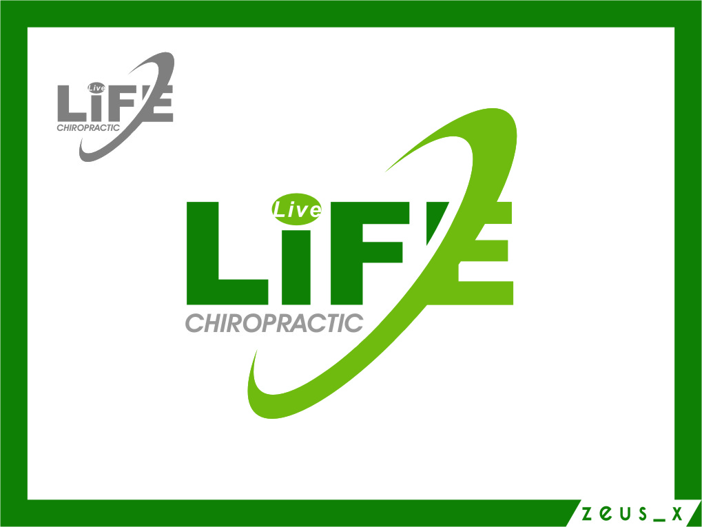 Logo Design by RasYa Muhammad Athaya - Entry No. 87 in the Logo Design Contest Captivating Logo Design for LiveLife Chiropractic.