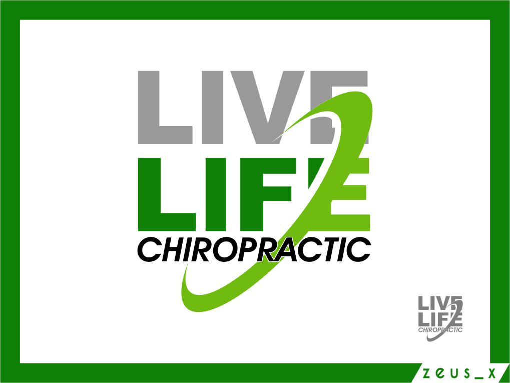 Logo Design by RasYa Muhammad Athaya - Entry No. 88 in the Logo Design Contest Captivating Logo Design for LiveLife Chiropractic.