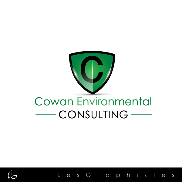 Logo Design by Les-Graphistes - Entry No. 1 in the Logo Design Contest Fun Logo Design for Cowan Environmental Consulting.