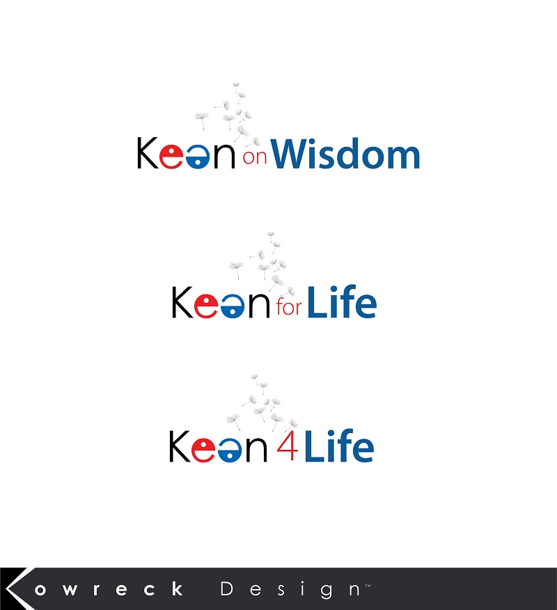 Logo Design by kowreck - Entry No. 47 in the Logo Design Contest Logo Design for Keen on Wisdom, Keen for Life, Keen 4 Life.