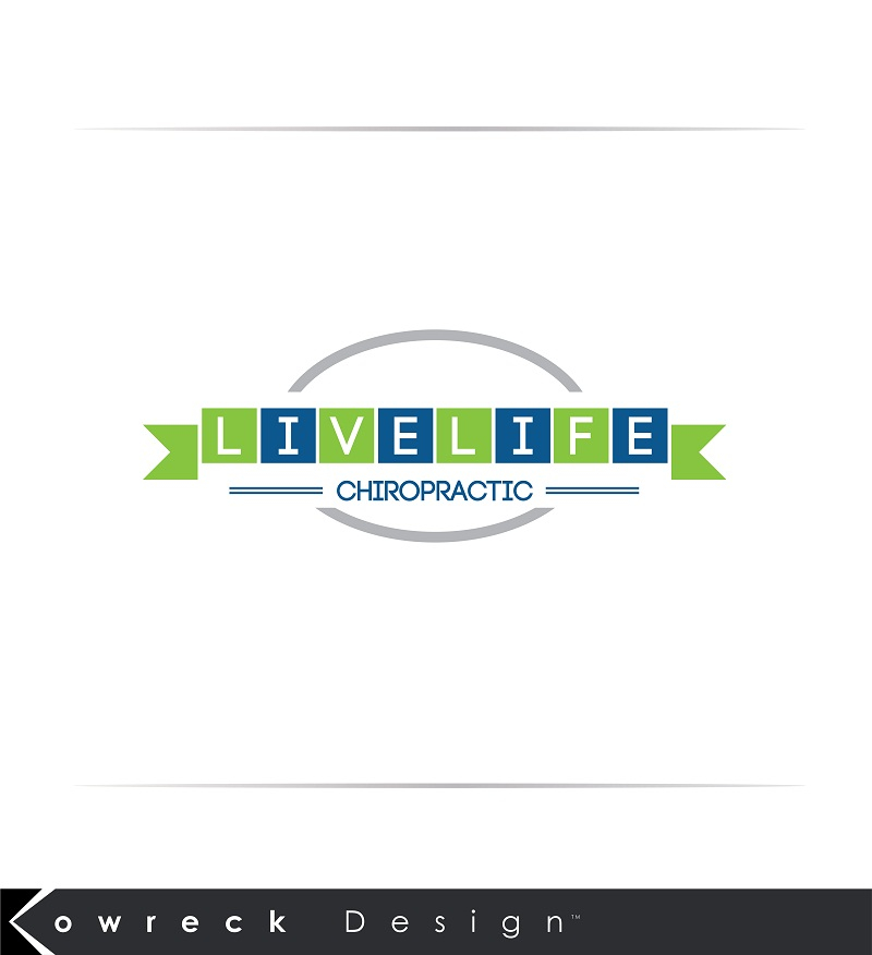 Logo Design by kowreck - Entry No. 95 in the Logo Design Contest Captivating Logo Design for LiveLife Chiropractic.
